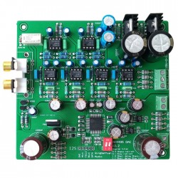AKM AK4495SEQ DAC Module Board I2S 32bit 384khz DSD 2x L7805CV Regulators