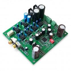 AKM AK4495SEQ Module DAC I2S 32bit 384khz DSD Régulateurs 2x L7805CV