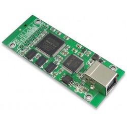 XMOS U208 CPLD Interface USB-B vers SPDIF I2S 32bit/384kHz DSD512