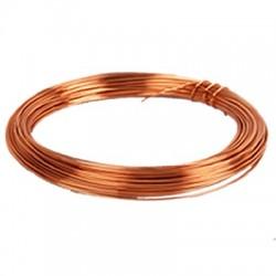 Fil de cuivre monobrin émaillé Ø 0.5mm 23m