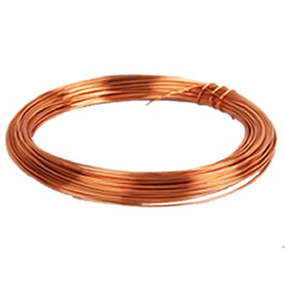 Monostrand Copper wire Ø 0.5mm 23m