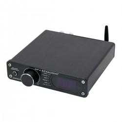 FX-AUDIO D502BT Amplifier FDA TAS5342A Subwoofer Output Bluetooth 5.0 2x40W 8 Ohm