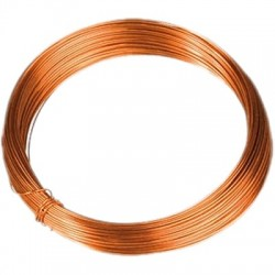 Monostrand Copper wire Ø 0.8mm 10m