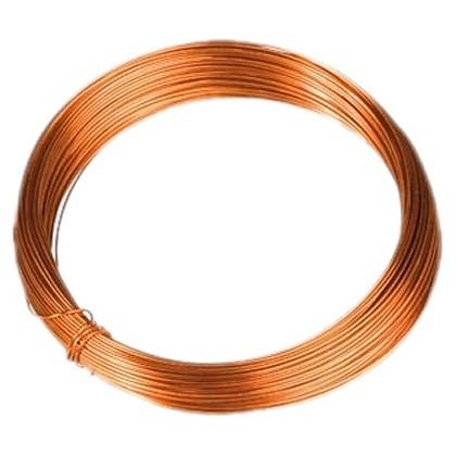 Fil de cuivre monobrin émaillé Ø 0.8 mm 10m