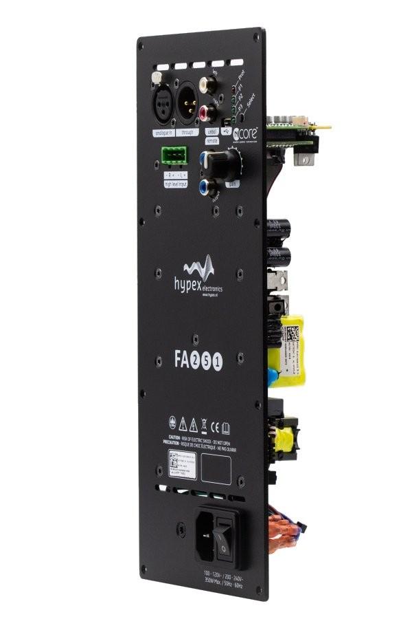 HYPEX FUSIONAMP FA251 Module Amplificateur NCore 1x250W DSP ADAU1450 DAC AK4454
