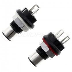 KLEI HARMONY CLASSIC RCA Plugs Silver Plated Copper (Pair)