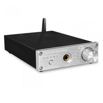 FX-AUDIO DAC-X6 MKII DAC ES9018 24Bit / 192kHz Amplificateur casque Bluetooth 5.0 apt-X QCC3008 Argent