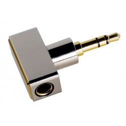 DJ44C Adapter Female Balanced Jack 4.4mm to Male Single-Ended Jack 3.5mm Gold Plated