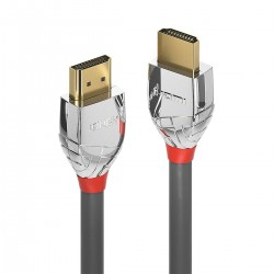LINDY CROMO LINE High Speed HDMI 2.0 Cable Triple Shielding 24k Gold Plated 1m