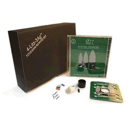 """1877 PHONO """"4-Litz-3Ag"""" - Kit de recâblage bras de lecture"""