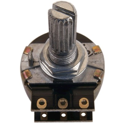 Potentiometer switched Stereo anti pop - Resistors 1% SMD 50k