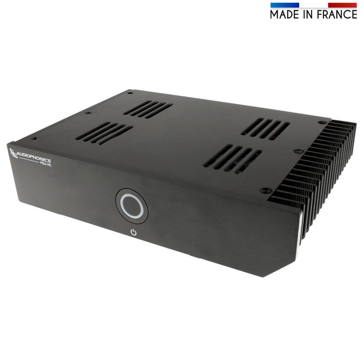 AUDIOPHONICS PSU-HC Linear Regulated Power Supply 12V 5A 100VA