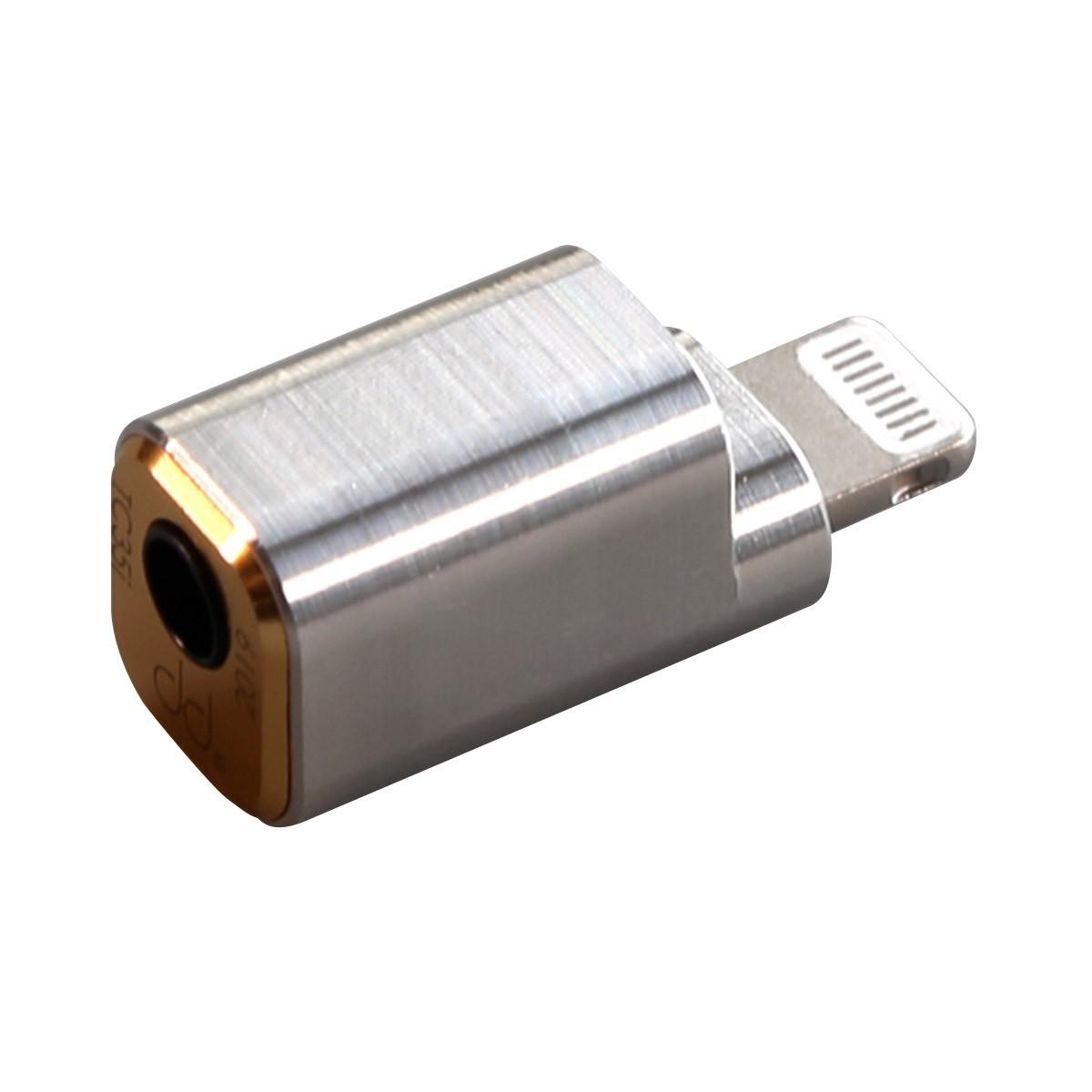 DD TC35I Adaptateur DAC Lightning Mâle vers Jack 3.5mm Femelle 32bit 384kHz