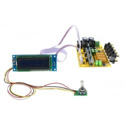 Module Sélecteur de Source PGA2311 5 entrées avec Écran LCD