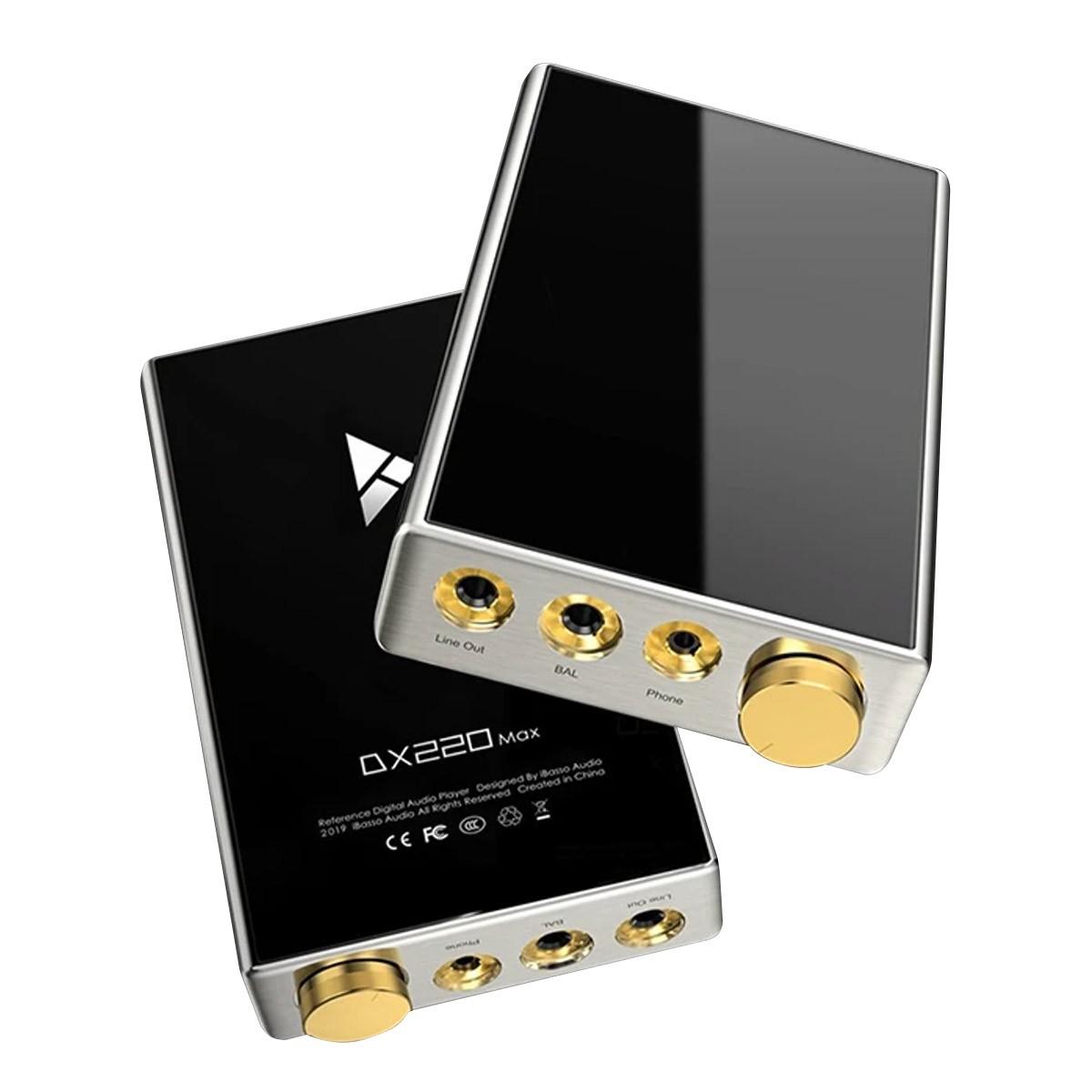 IBASSO DX220 MAX Digital Player DAP HiFi 2x ES9028Pro Balanced Bluetooth WiFi 32bit 384kHz DSD512