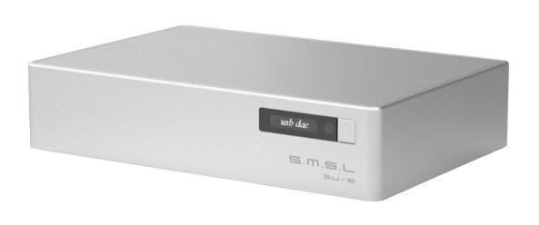 SMSL SU-8 V2 DAC Balanced 2xES9038Q2M USB XMOS 768kHz DSD512