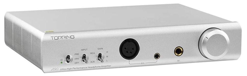 TOPPING A90 Amplificateur casque / Préamplificateur symétrique Argent