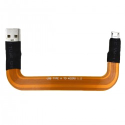 ALLO FLEX Câble Micro USB vers USB-A 90 Ohm pour USBridge Signature / Revolution DAC