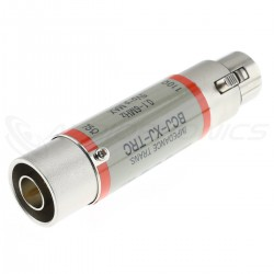 CANARE BCJ-XJ-TRC Adapter Impedance Transformer AES/EBU 110 Ohm to Coaxial BNC 75 Ohm 0.1 - 6.0MHz 5V