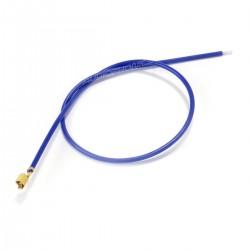 Câble VH 3.96mm Femelle vers Fil Nu Sans Boîtier 1 Pôle Plaqué Or 40cm Bleu (x10)