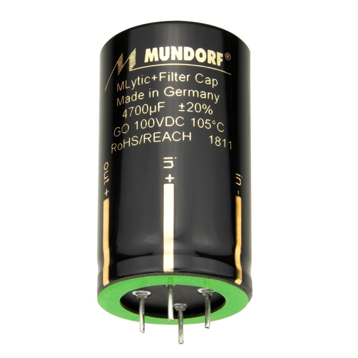 MUNDORF MLYTIC AG+ Capacitor 80V 10000µF