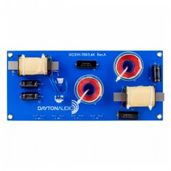DAYTON AUDIO XO3W-700/5.6K 3-Way Speaker Crossover 700Hz - 5600Hz
