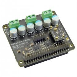IAN CANADA Dual Mono ES9038Q2M DAC HAT Raspberry Pi / I2S & SPDIF / PCM DSD