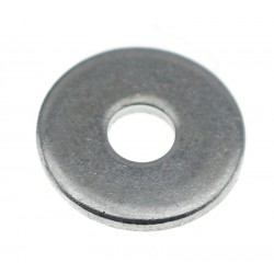 Rondelle Plate galvanisée M3x10x1mm (x10)