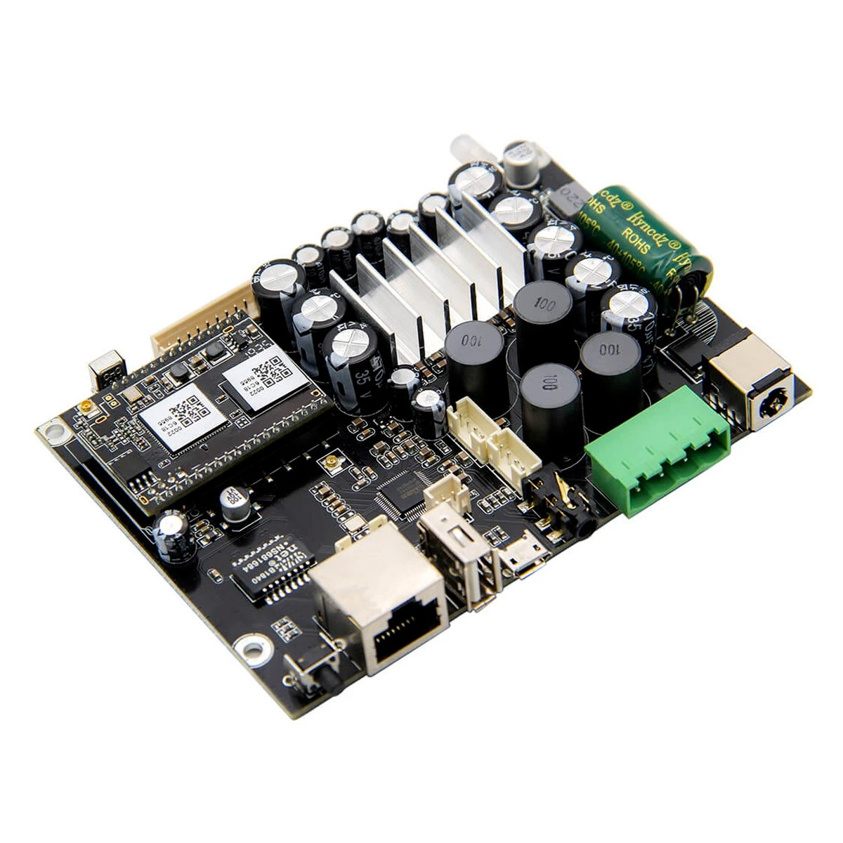 ARYLIC UP2STREAM AMP V3 Amplifier Module Class D WiFi DLNA Bluetooth 5.0 2x50W 4 Ohm 24bit 192kHz