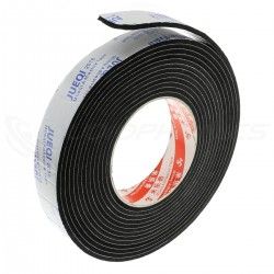 EVA Gasket Double Sided Adhesive 25x3mm 5m Black