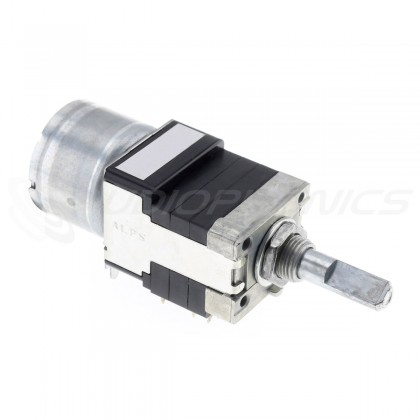 ALPS RK168 Potentiomètre Motorisé 4 Voies Logarithmique 100K Ohm