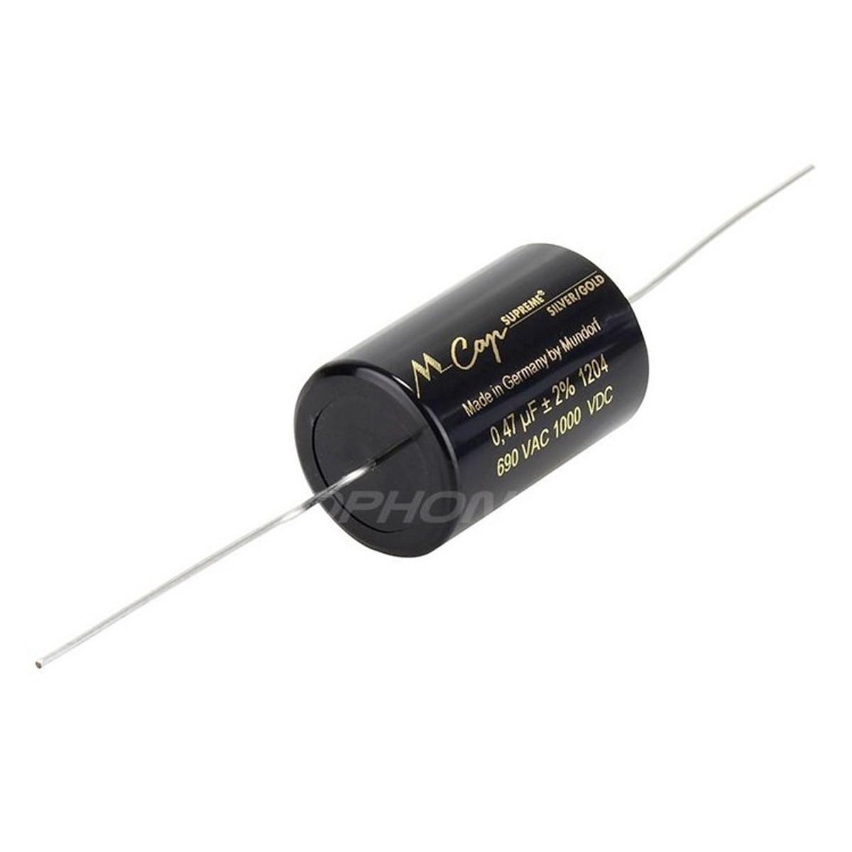 MUNDORF MCAP SUPREME SILVERGOLD Condensateur 1000V 0.15µF