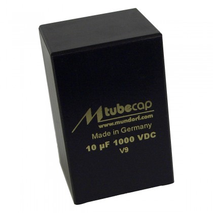 Mundorf Condensateur TubeCap 600V 30µF