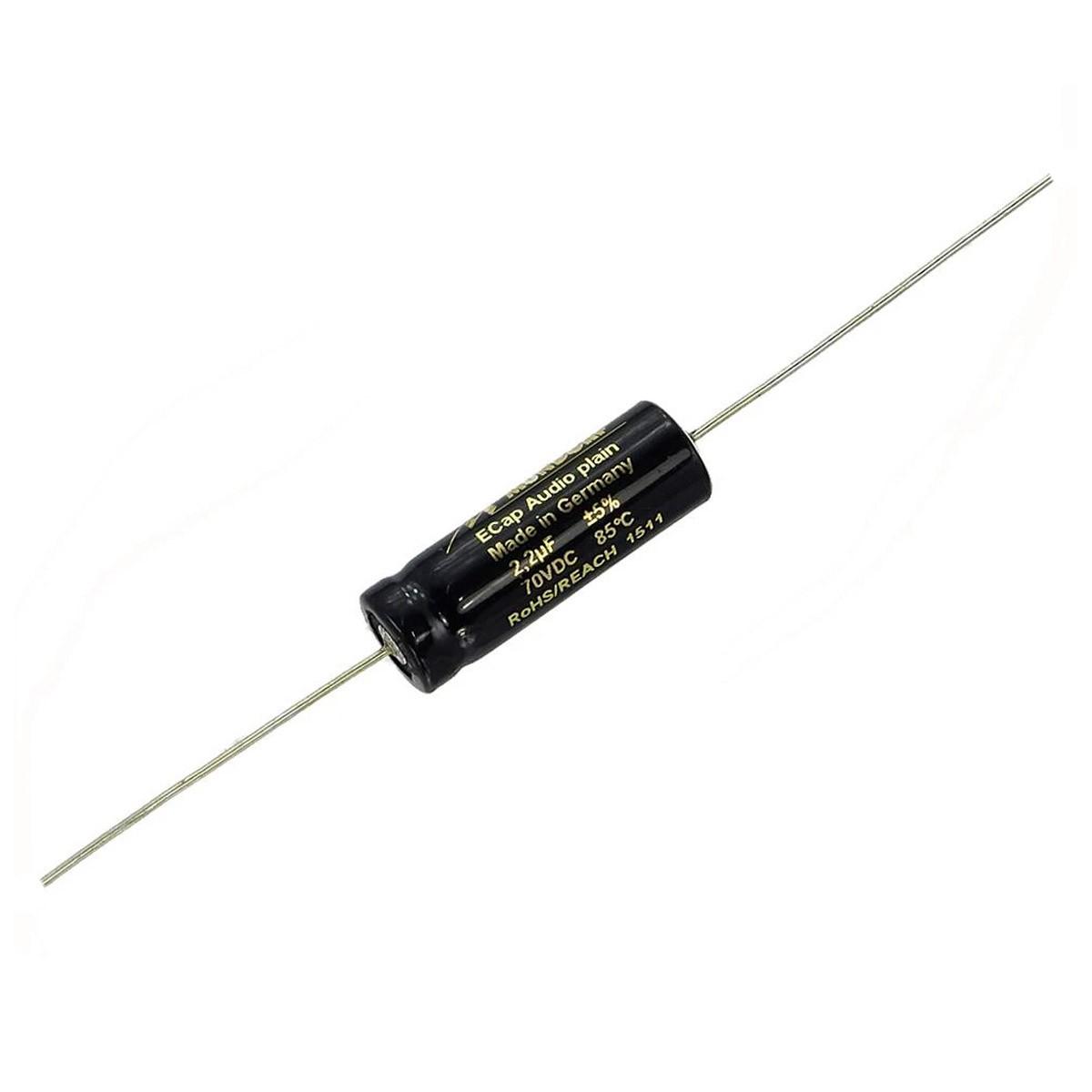 MUNDORF E-CAP ECAP70 (BG50) PLAIN Condensateur 70VDC 50VAC 15µF
