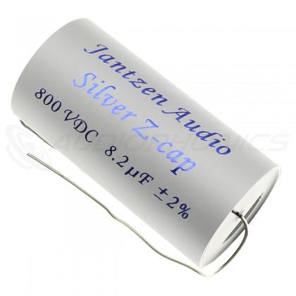 Jantzen Audio condensateurs Silver Z-cap 800 VDC 8.2 µF