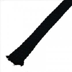Gaine Coton naturel pour câble Ø18-25mm noir
