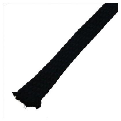 Gaine Coton naturel pour câble Dia. 18 - 25mm noir