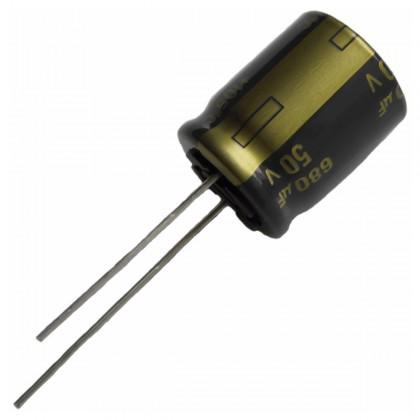 PANASONIC FC - Condensateur Low ESR 220µF 25V 105°