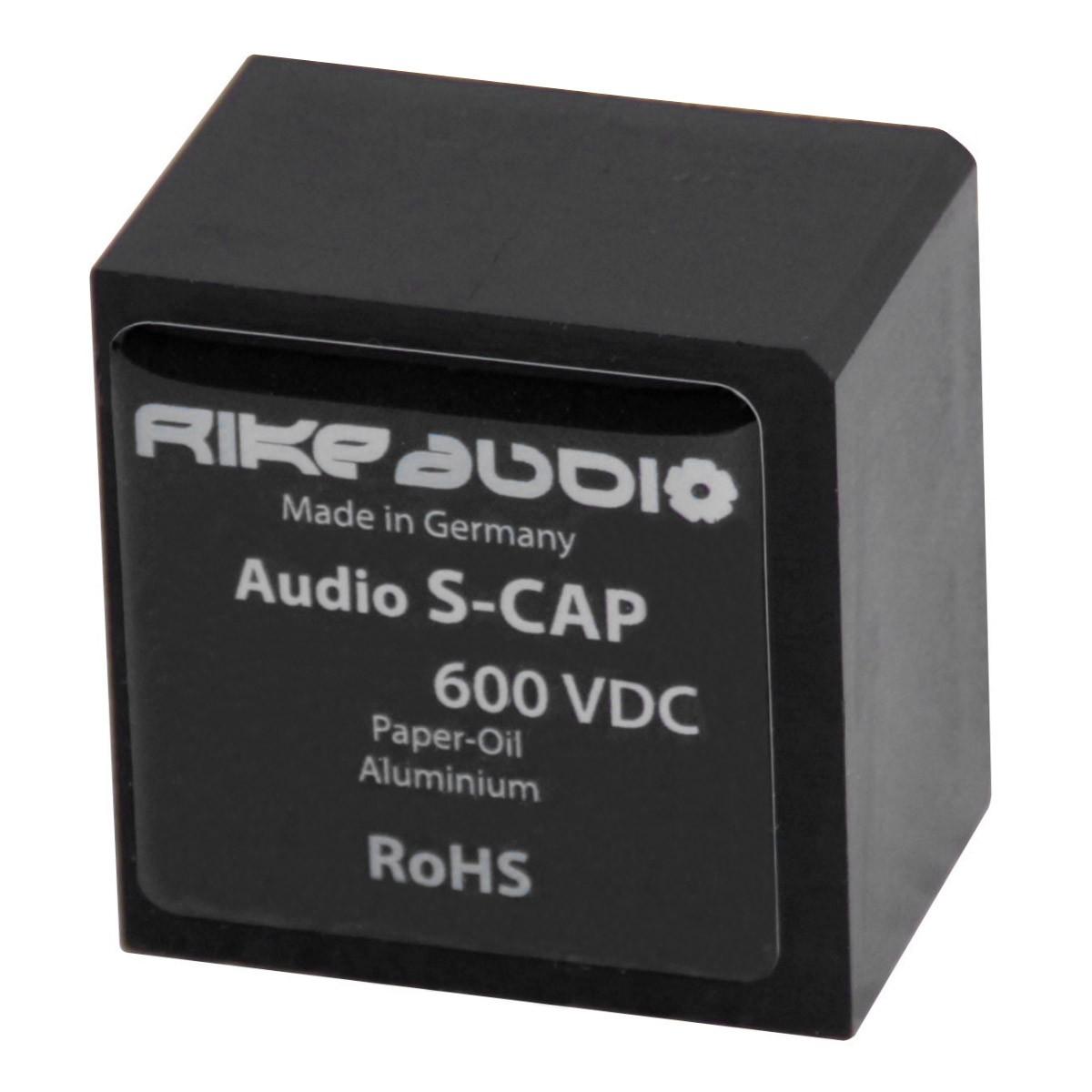 RIKE AUDIO S-CAP Condensateur Papier Huilé 600V 3.3µF