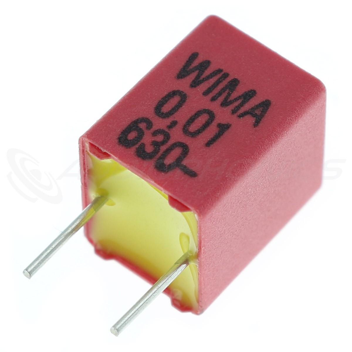 WIMA FKP-2 Condensateur Polypropylène 5mm 100V 0.001µF