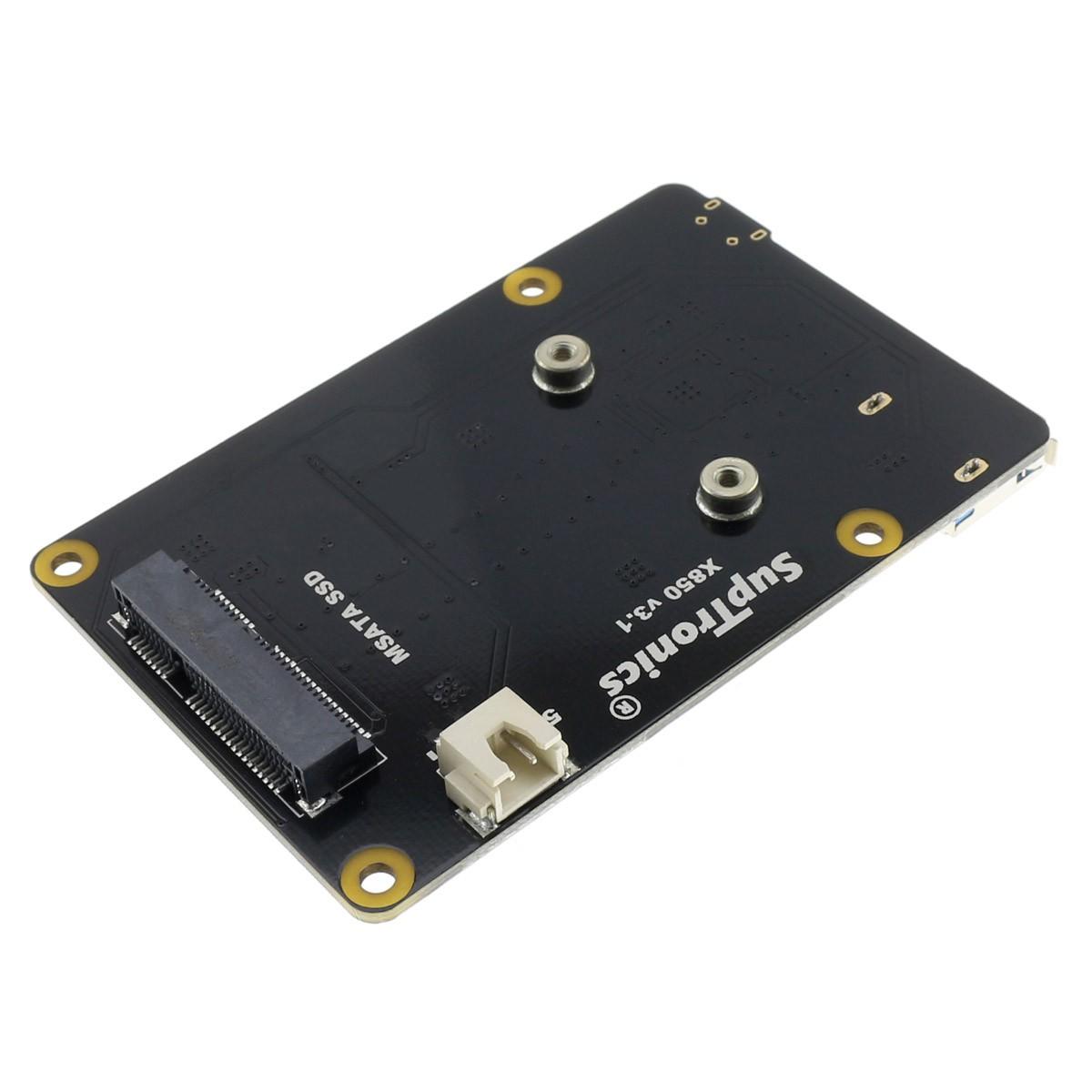 SUPTRONICS X850 V3.1 USB mSATA SSD Controller for Raspberry Pi