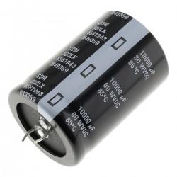 Condensateur CORNELL Dubilier aluminium 80V 10000µF