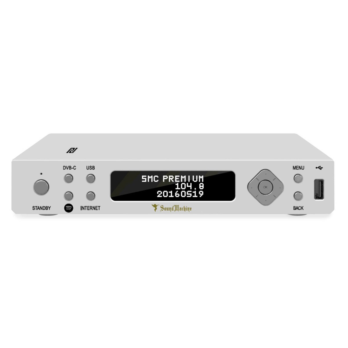 SMC-1030 Audio Streamer WiFi Bluetooth DLNA UPnP DAB+ FM