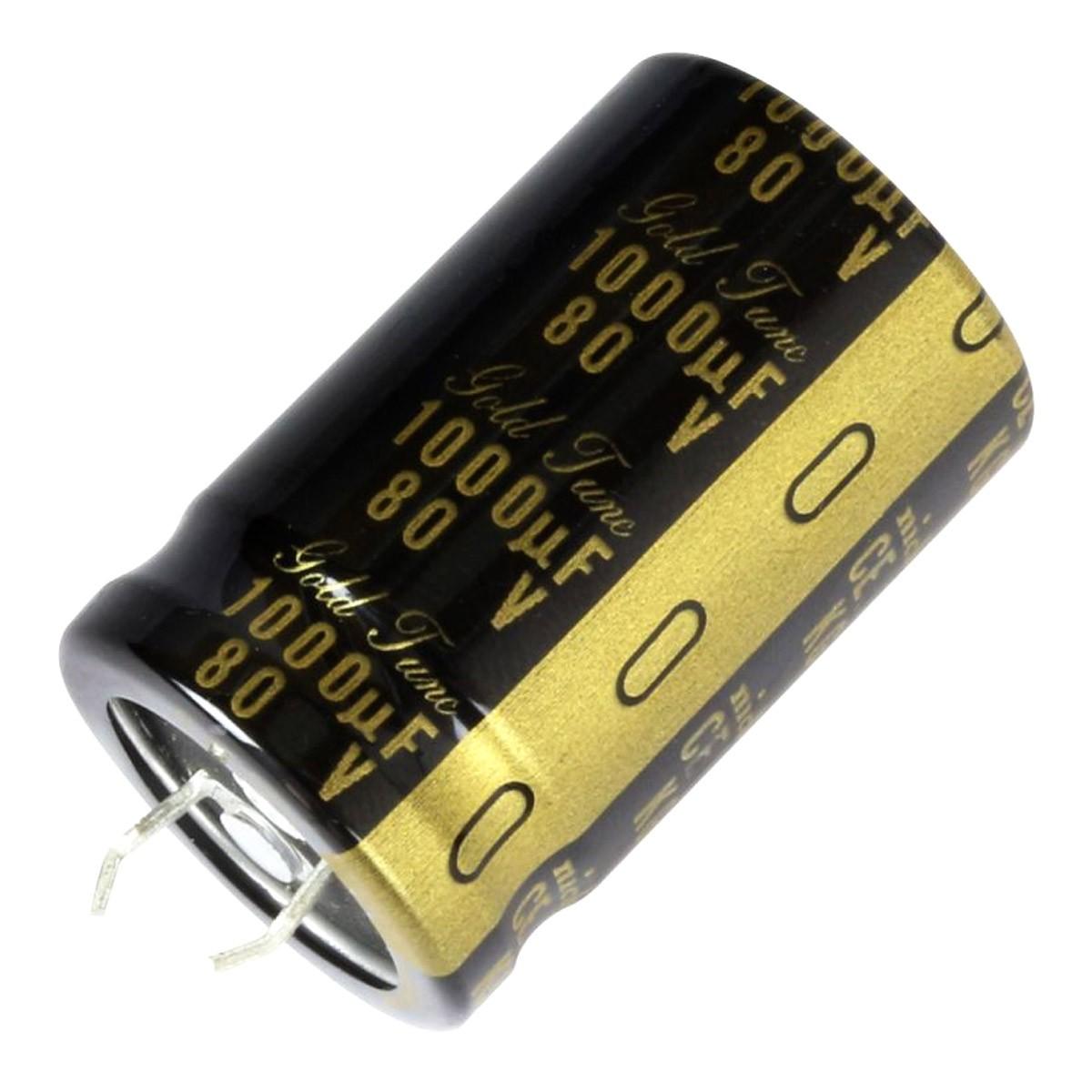 NICHICON KG GOLD TUNE Electrolytic Audio Capacitor 25V 3300µF