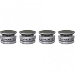VIABLUE TRI SILVER Spikes Silver(Set x4)