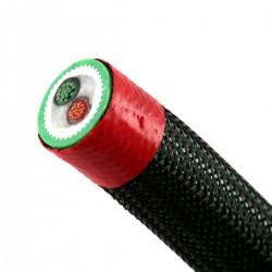 NEOTECH NES-3001 Câble Haut-Parleur Cuivre UP-OCC Plaqué Or 17AWG Ø15mm