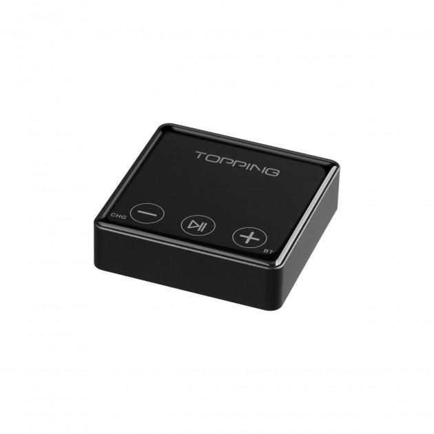 Topping Bc3 Audio Reveicer Bluetooth 5 0 Aptx Hd Ldac Dac Es9018q2c 24bit 96khz Black Audiophonics