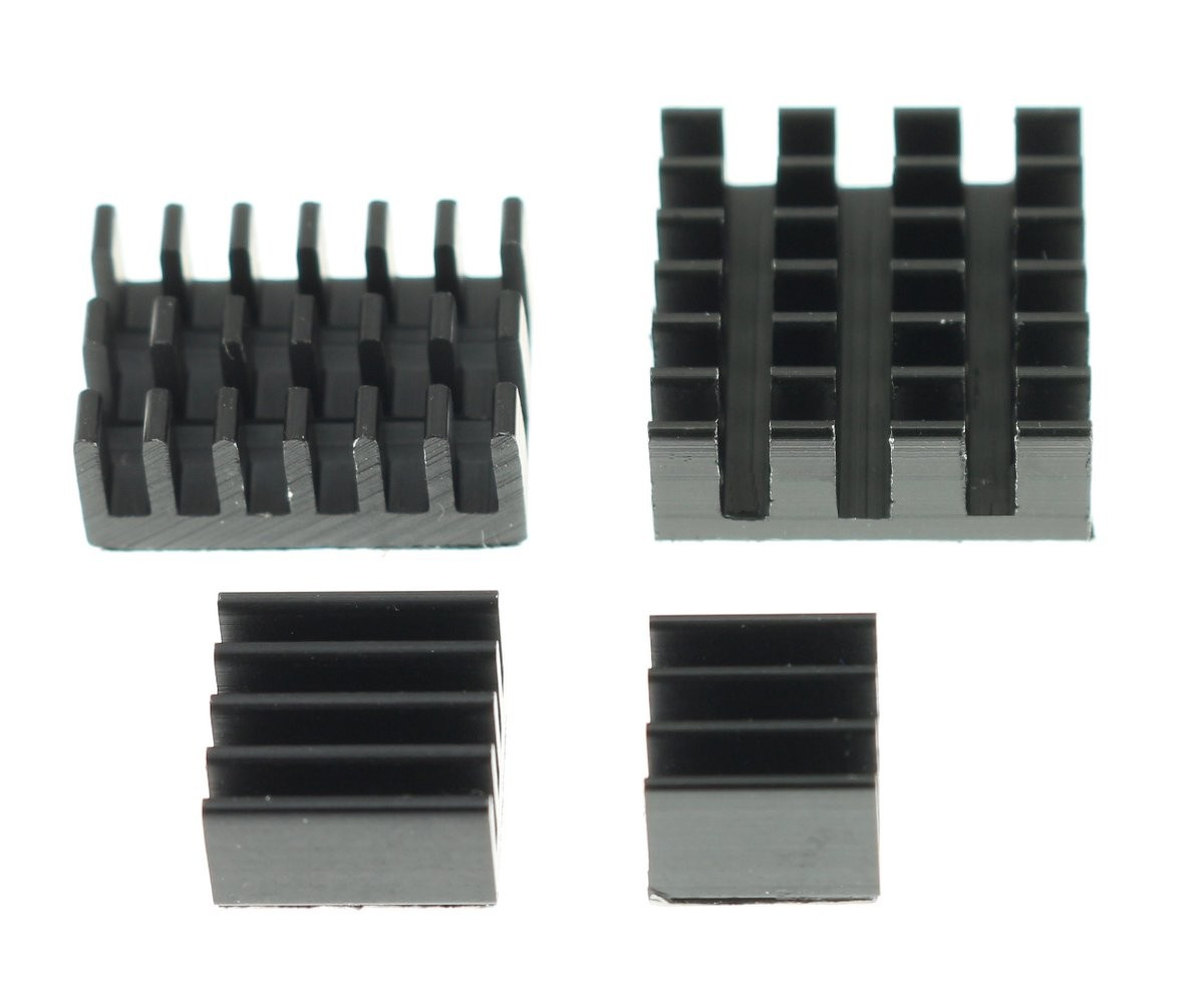 Heatsink for Raspberry Pi 4 (Set x4)
