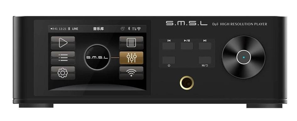 SMSL DP5 Streamer Balanced DAC ES9038Pro AES/EBU HDMI I2S MQA