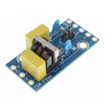 Filtre secteur EMI / RFI Anti-parasites 230V 1A